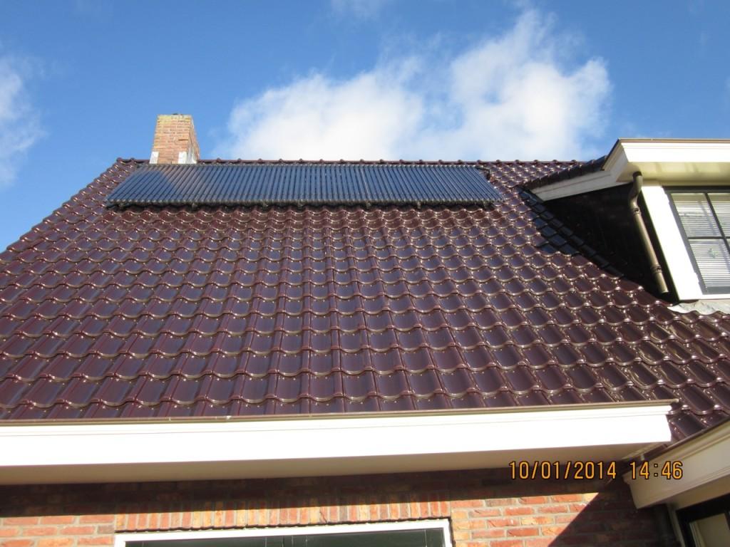 Heat-pipes op het dak