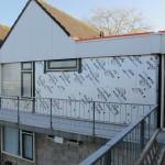 Gevelisolatie bij 82 woningen stichting Woningbeheer de Vooruitgang