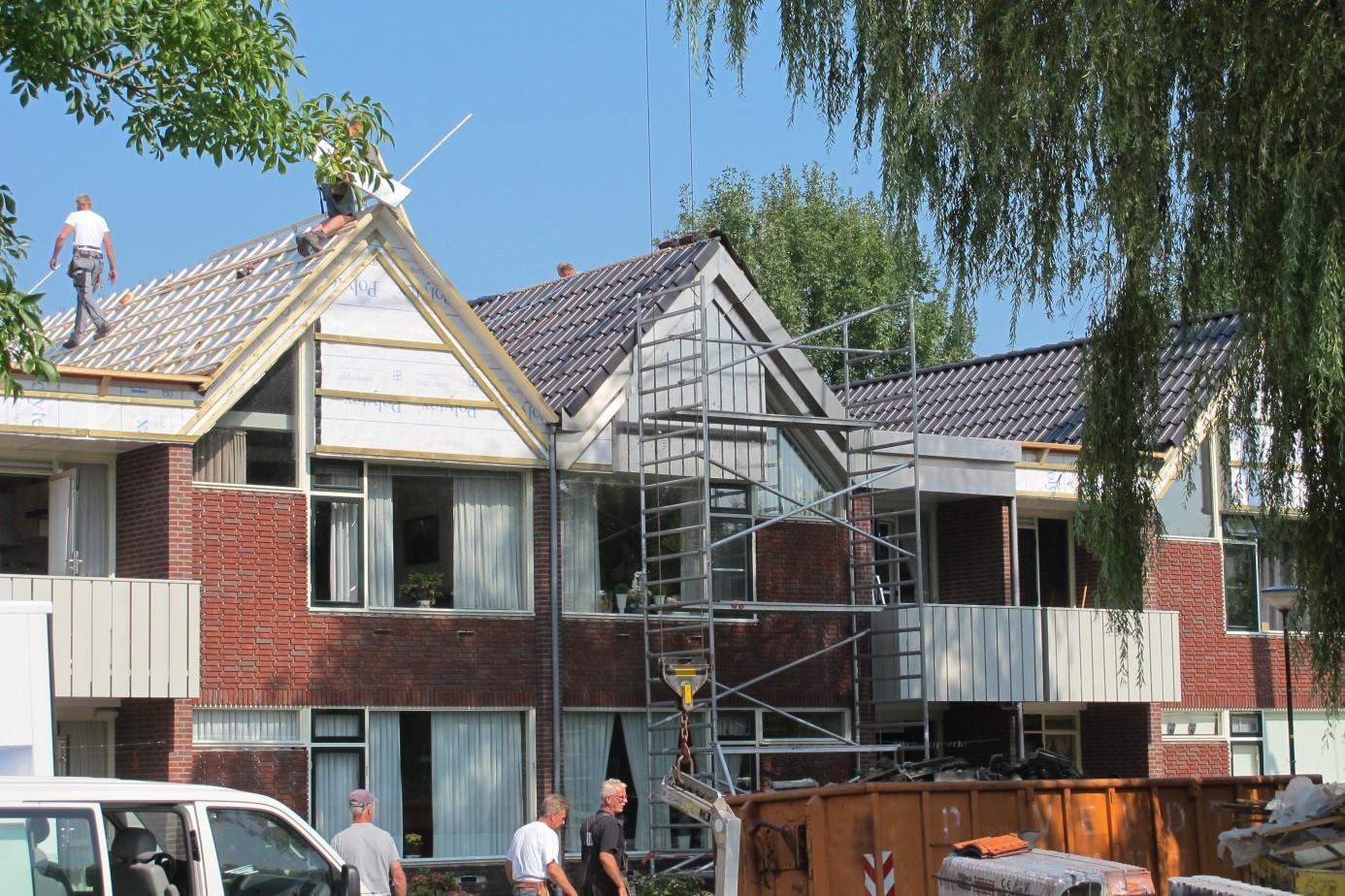 Woningstichting isoleert 82 woningen op Volendam