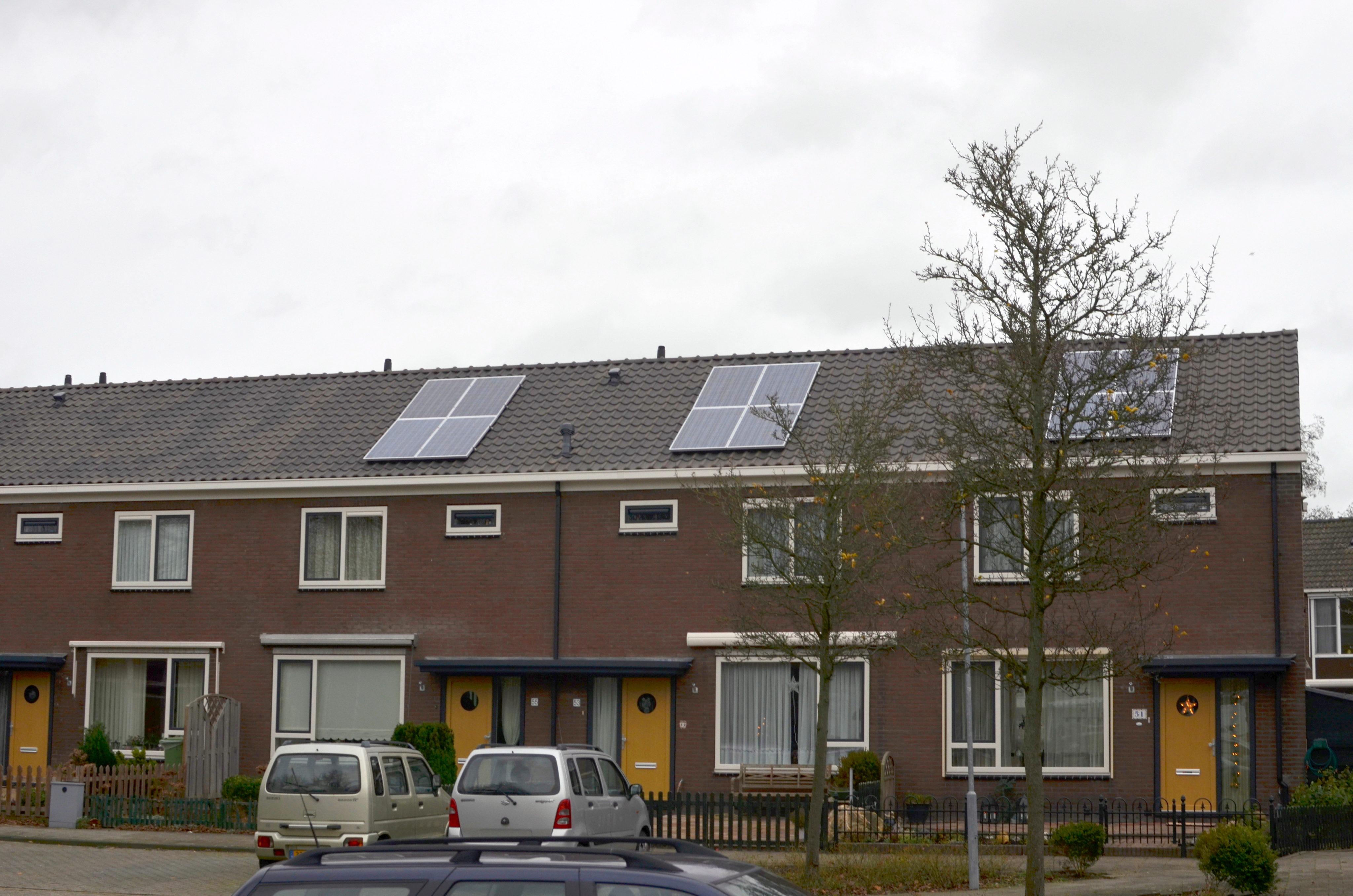 Complete wijken krijgen nieuw dak en extra isolatie