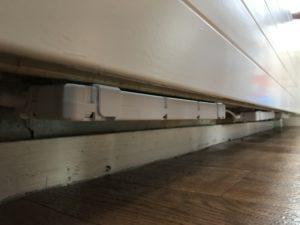 Speedcomfort onder de radiator