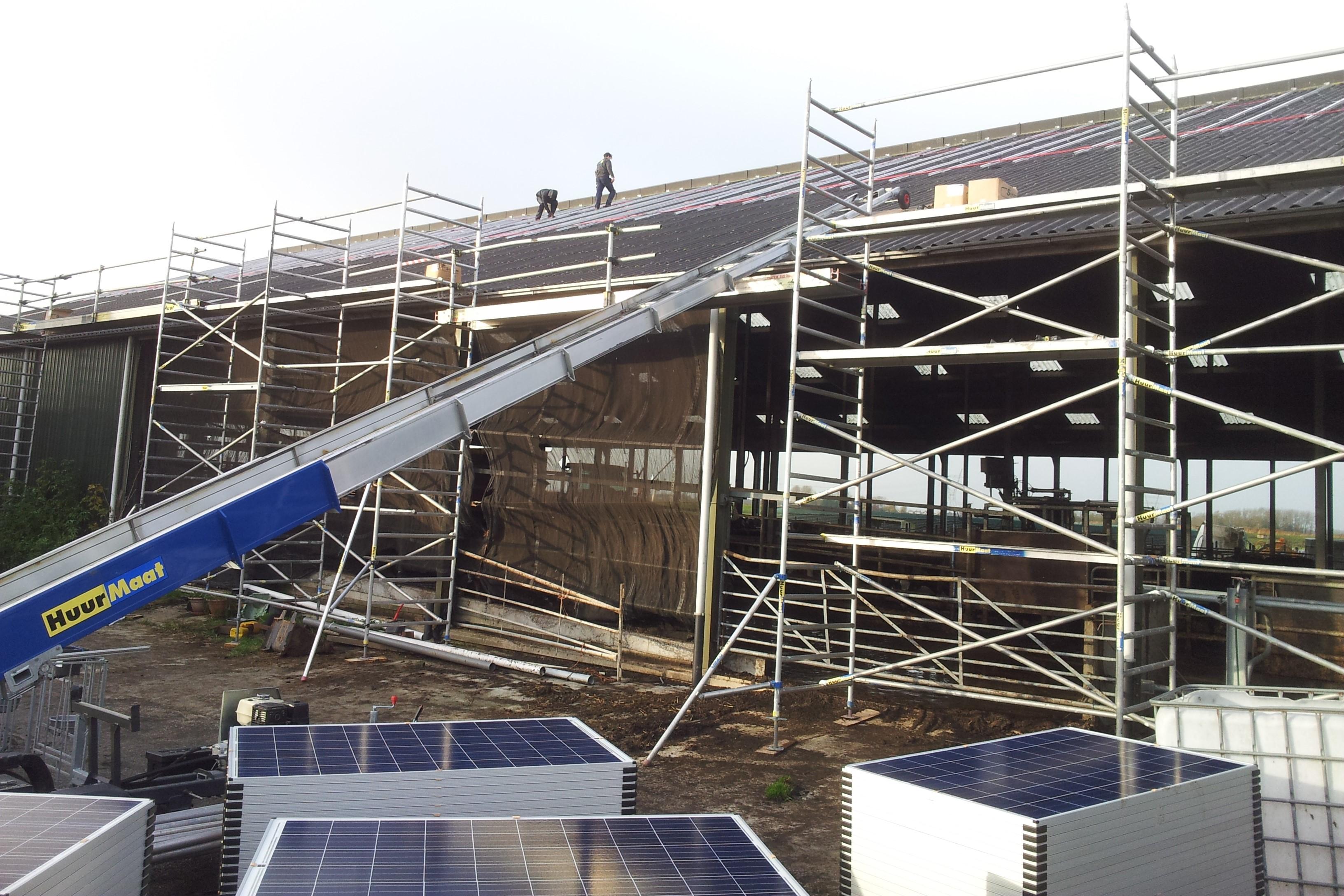 272 zonnepanelen voor Energiecoöperatie Zon op Waterland