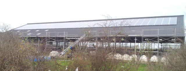 De eerste 272 liggen op het dak bij project Noorderzon