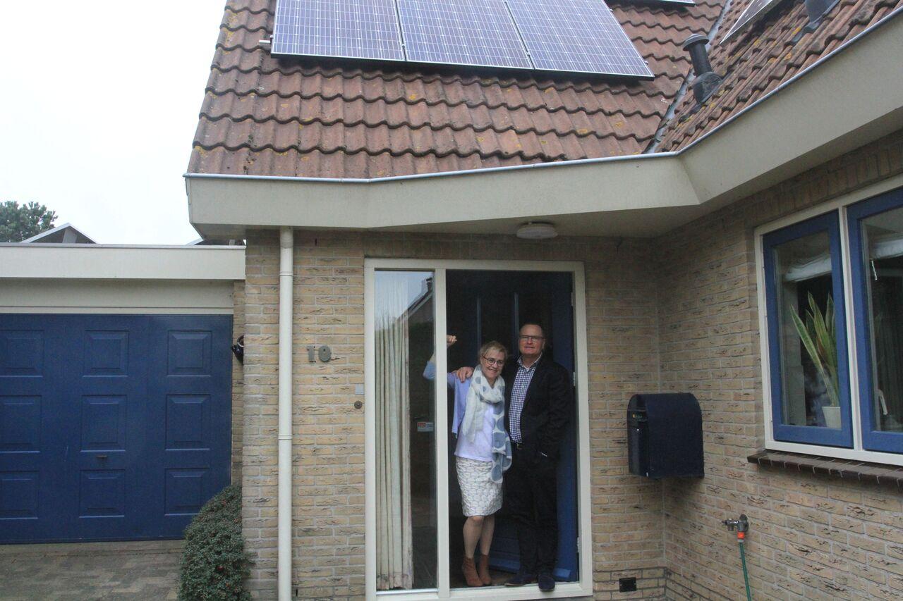 Opening energieneutraal huis in Zaandijk