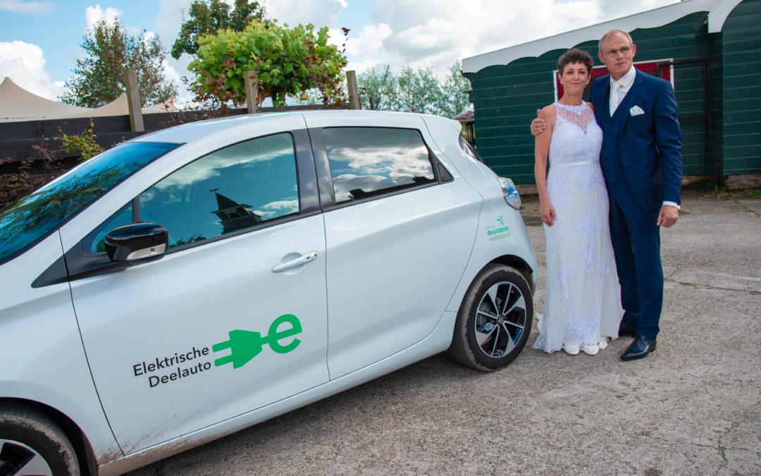 Gertjan en Sandra wilden een duurzame bruiloft