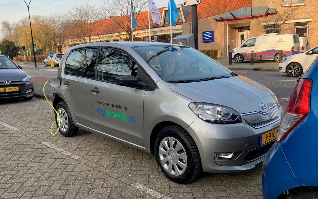 Tweede elektrische deelauto beschikbaar in Edam