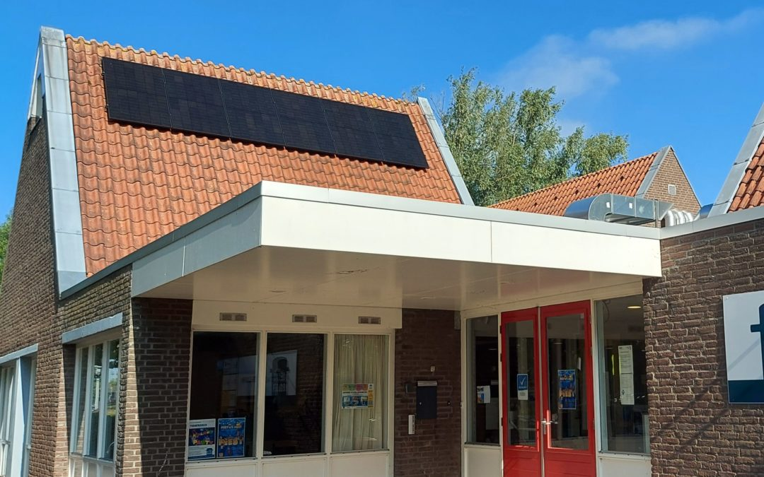 Sociaal Cultureel Centrum De Bolder krijgt alvast 20 zonnepanelen