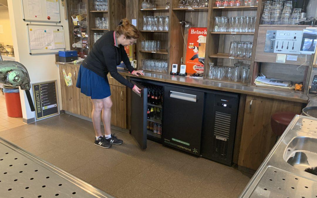 Tennisclub Monnickendam kan energiezuinig drankjes serveren